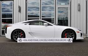 lexus lfa website gearheads cry over final delivery of lexus lfa supercar