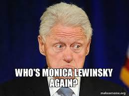 Monica Lewinsky Meme - who s monica lewinsky again make a meme