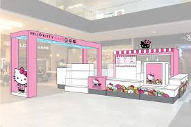 Dream Furniture Hello Kitty by Squeal Alert Hello Kitty Opening Permanent Mini Cafe In Westfield