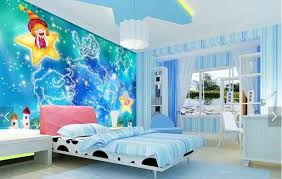 kids bedroom wallpapers carton abstract murals for living room