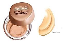 maybelline dream matte mousse classic ivory light 2 maybelline dream matte mousse foundation classic ivory light no 2