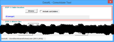 combine multiple workbooks into one dataxl tool