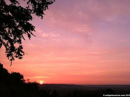 sunrise 164 ault park soft orange spring twilight ault park