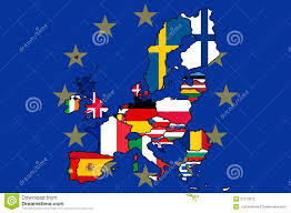 Map Of The European Union by European Union Flag Map Stock Photography Image 37212672