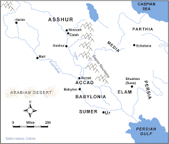 map of mesopotamia near east bible history online