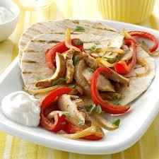 chicken fajitas for two recipe taste of home