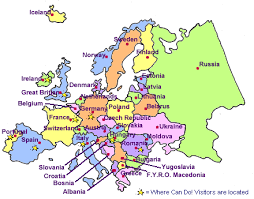 map of europe labelled europe map travel maps and major tourist attractions maps