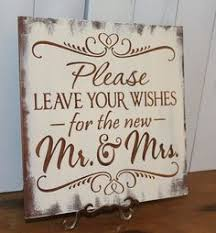 wedding wishes board 8 x 10 printed leave your advice and wishes for the new mr