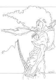 afro samurai wip maybe by lukthebest on deviantart