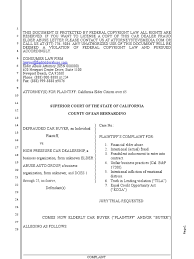 download sample demurrer to fraud complaint for california