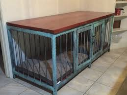 Modern Industrial Furniture by Dog Crate That Also Is A Fancy Piece Of Modern Industrial