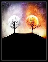 silmarillion moon and sun by ladyelleth on deviantart