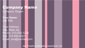 Purple Business Cards Free Business Cards Templates The Grid System