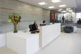 Modern Office Reception Desk Modern Office Counter Design Crowdbuild For