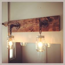 rustic bathroom lighting ideas alluring amazing rustic bathroom light fixtures excellent landscape