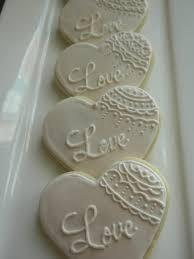 wedding cookies for bridal shower wedding ideas pinterest
