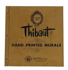 thibaut hand printed murals