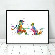 wall ideas geometric cool fox wall sticker wild and free quote sean fox design wall art the little prince fox watercolor nursery art print poster fox wall decor art home decor inspiration fox wall art fox wall art