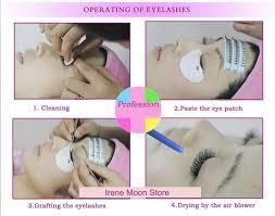 Professional Eyelash Extension 4 Items Eyelash Extension Kit 15ml Black Professional Eyelashes