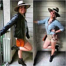 Indiana Jones Halloween Costumes Cindyana Jones Makeup Hair U0026 Costume