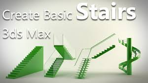 Max Stair Riser by 3ds Max Tutorial Create Basic Staircase Youtube