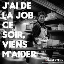 cherche chef de cuisine emplois ponctuels où quand et au salaire que vous voulez