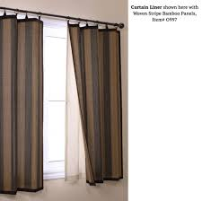 home decoration perfect blackout curtain liner for woven bamboo