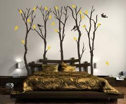 dessin mural chambre déco chambre adulte 57 idées fascinantes à emprunter grand lit