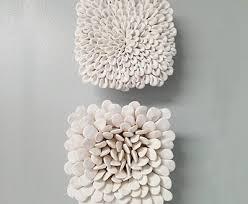 3 dimensional wood wall amazing chic three dimensional wall artwork metal wood flower