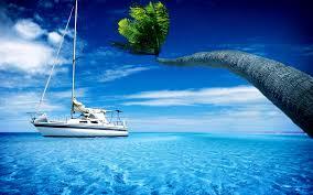 sailing boat wallpaper 7017828