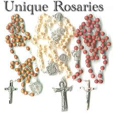 unique rosaries unique catholic rosaries from italy with free vatican postcards