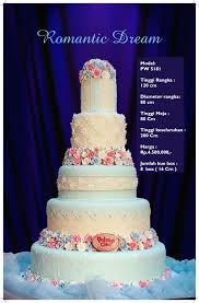 wedding cake surabaya harga wedding cake by pelangi cake bridestory