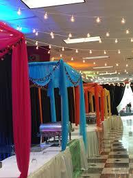 indian wedding decorators in atlanta food stations setup at vandana s mehndi decor at global mall by