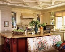 Rustic Mediterranean Kitchen Interior Design Kitchen Island Decorating Ideas For Interior