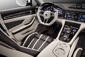 porsche panamera inside russia u0027s topcar gives all new porsche panamera a custom interior job