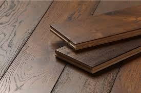 18mm Laminate Flooring Solid Oak 18mm 150mm Brushed Caramel