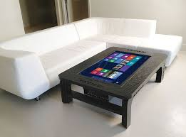 ultra modern coffee table ultra modern touch screen coffee table inspirations for living room