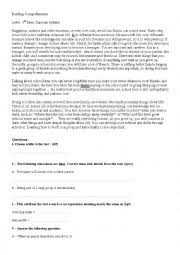 9th Grade Reading Comprehension Worksheets Reading Comprehension 9th Grade Tunisian System