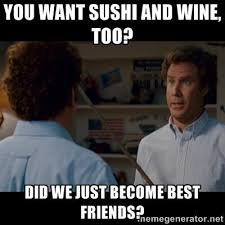 Did We Just Become Best Friends Meme - did we just become best friends hanabi restaurant facebook