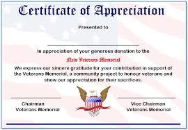 10 elegant certificate of appreciation for donation templates