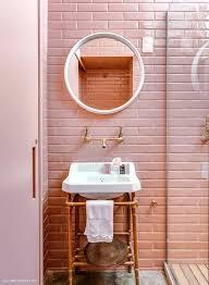 Pink Tile Bathroom Decorating Ideas Pink Tiled Bathrooms O2drops Co