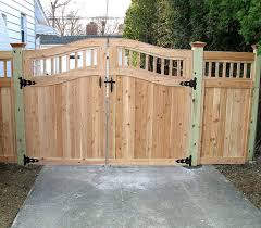 wood fence door design custom gate designs elyria fence a