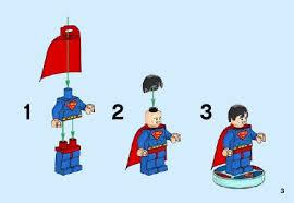 lego superman instructions 71236 dimensions