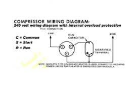 rotary pressor wiring diagram rotary phase converter wiring