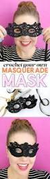 crochet masquerade mask free pattern persia lou