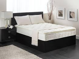 Bed Frame Box Amazon Com Textrade Usa Inner Spring Pillow Top Mattress In A Box