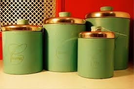 green kitchen canisters sets green canister sets kitchen photogiraffe me