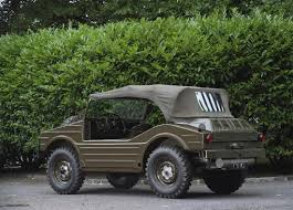 volkswagen kubelwagen porsche made a 4x4 that looks like a vw thing got a problem with