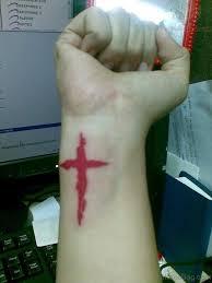 60 phenomenal cross tattoos on wrist