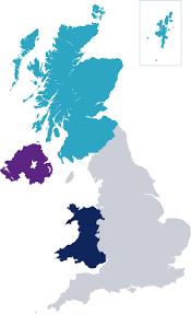 map uk ireland scotland gmc the gmc across the uk northern ireland scotland and wales